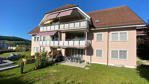 Fassadensanierung Mehrfamilienhaus MFH