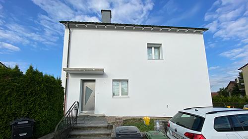 Fassadensanierung Einfamilienhaus EFH